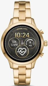 New-Michael-Kors-Access-Runway-Smartwatch-41mm-Stainless-Steel-Gold-MKT5045