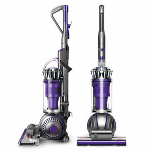 Dyson-Ball-Animal-2-Upright-Vacuum-Purple-Broken-Wheel