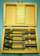 Shop Fox Steelex 3 Pc Tenon Plug Cutter Cutting Set 3/8 1/2 5/8 + Wood Case New