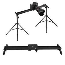 60CM Photo Studio DSLR Camera Track Dolly Rail Slider Video Stabilization System