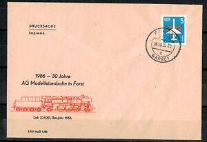 DDR-R-d-a-Sou-30-Annees-Ag-Modele-Foret-Minr-2831-Tst-Foret-26-08-1986