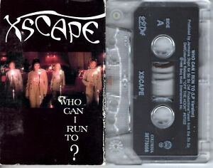 Xscape Who Can I Run To 1993 Cassette Tape Single Pop Dance Rock