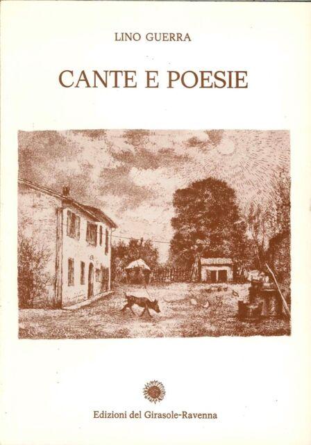 Cante e poesie - [Edizioni del Girasole]