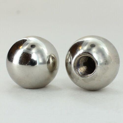 "5//8/"" Diameter ~ SOLID BRASS BALL FINIAL ~ Polished Nickel Finish ~ #GB13-N"