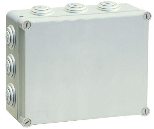 300x220x120mm Industriegehäuse Abzweigdose Verteilerkasten Schaltschrank JS7420