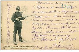 Russie-N-38369-soldat-in-Tenuta-da-Service