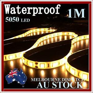 0-5-1-2-meter-5050-12V-DC-LED-strip-lights-warm-white-SMD-60LEDS-waterproof