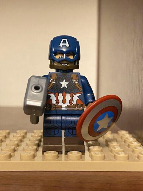 Lego Compatible Figure Classic WWII look Captain America