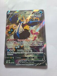 Empoleon V Alternate Full Art Rapid Strike Battle Styles Pokemon Card 146/163