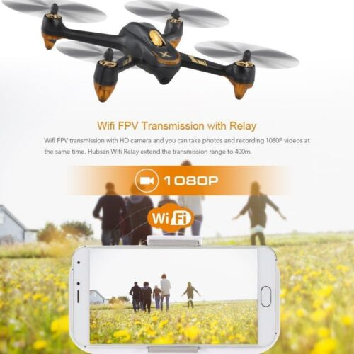Hubsan X4 H501A Brushless FPV RC Quadcopter APP 1080P CAM Follow Me GPS Remote