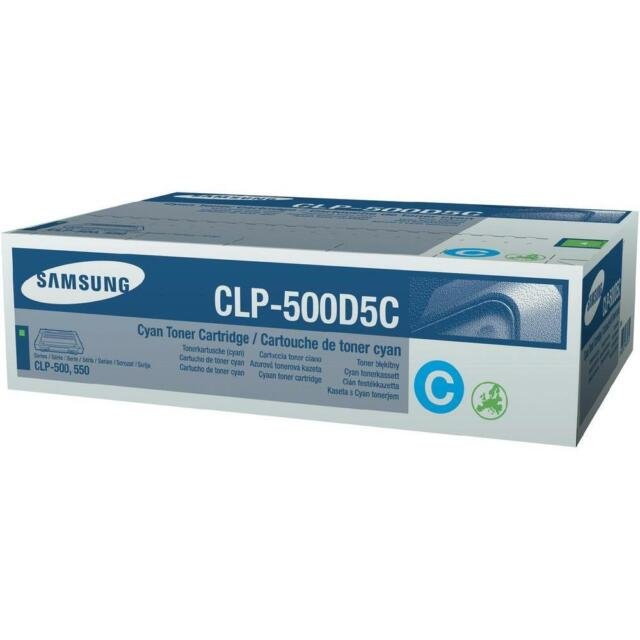 Original Samsung Toner CLP-500D5C Cyan for Samsung CLP-500/550/510 A-Ware