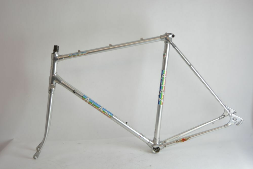 ALAN alu road frame and fork   italian   size - 55cm