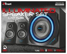 TRUST 20562 gxt628 120w Light-Up 2.1 SET ALTOPARLANTI PER PC Wii SONY ps3 XBOX, ecc.