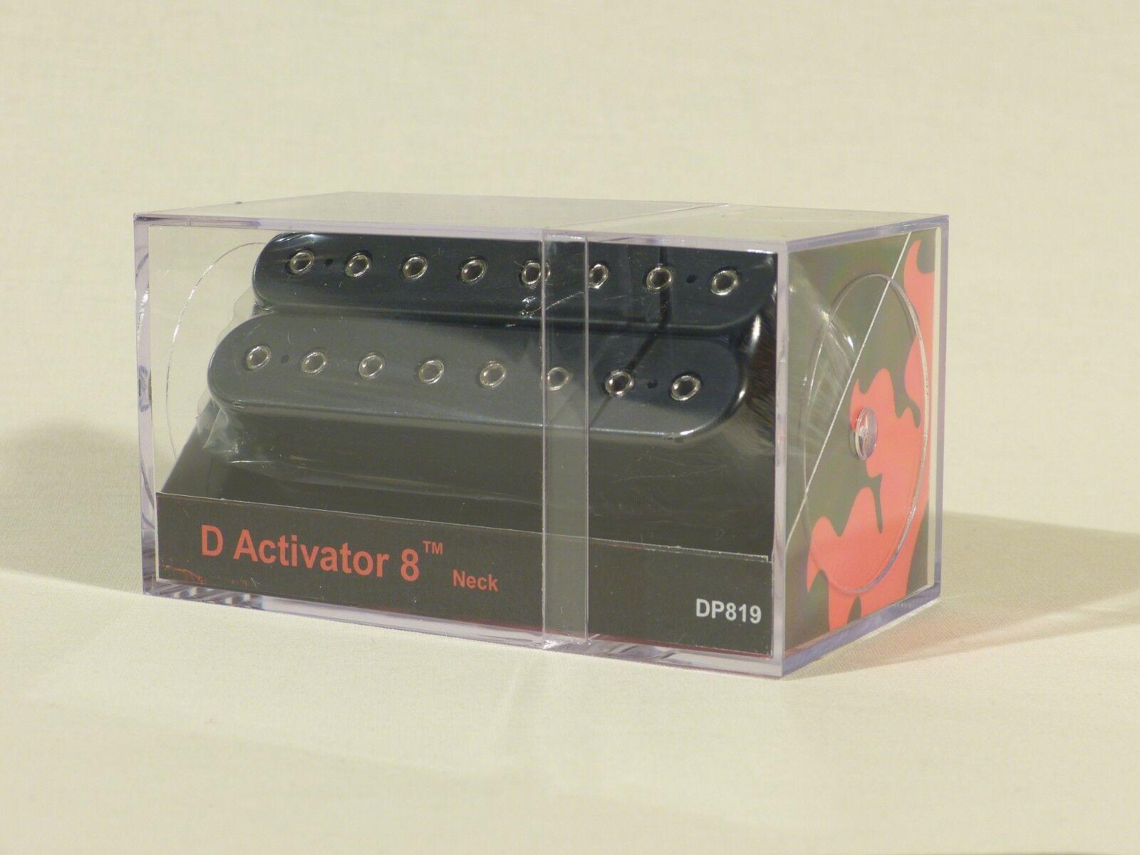 DiMarzio D Activator 8 Pickups Neck or Bridge in schwarz DP819 DP820 8 String