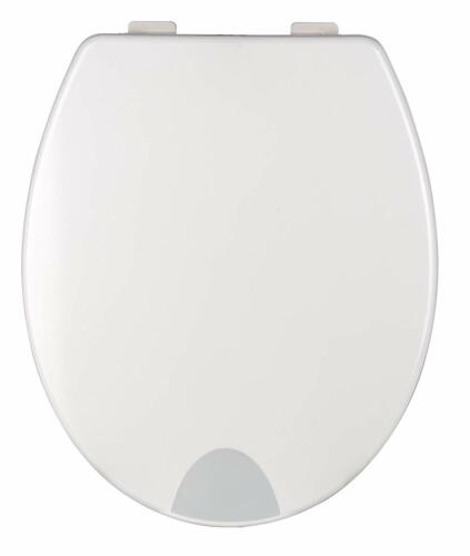 Wenko 21905100 Toilet Seat Secura comfort with 5 cm Seat increase and automatic closing