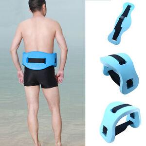 Water aqua floatation rehab support swim exercise floating belt waistband ebay for Flotation belt swimming pool exercise equipment