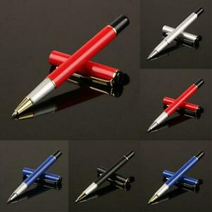 Metal-Pens-Black-Ink-Roller-Ball-Pens-Fine-Writing-Pen-Ballpoint-Top-Q4A4