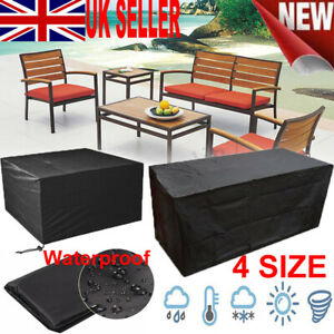4 Size Heavy Duty Waterproof Outdoor Garden Patio Furniture Cover
