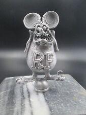 vintage rat fink ed roth motorcycle  ratrod hotrod car hood ornament