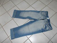 TOP*HERE & THERE*3/4 LANGE JEANS*GR.146*TOP