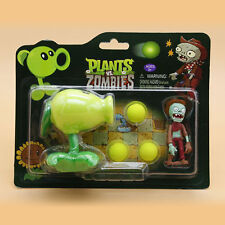 PVC Plants VS Zombies Peashooter Figure Model for Children Kids Decoration