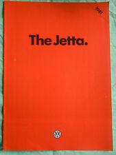 VW Jetta range brochure 1981
