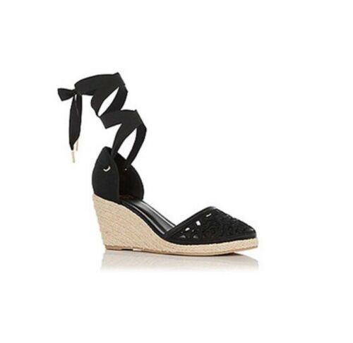 Oasis 38 Size Lace Shoes Black £191 Uk5 Wynne Espadrille SSH6qnZA
