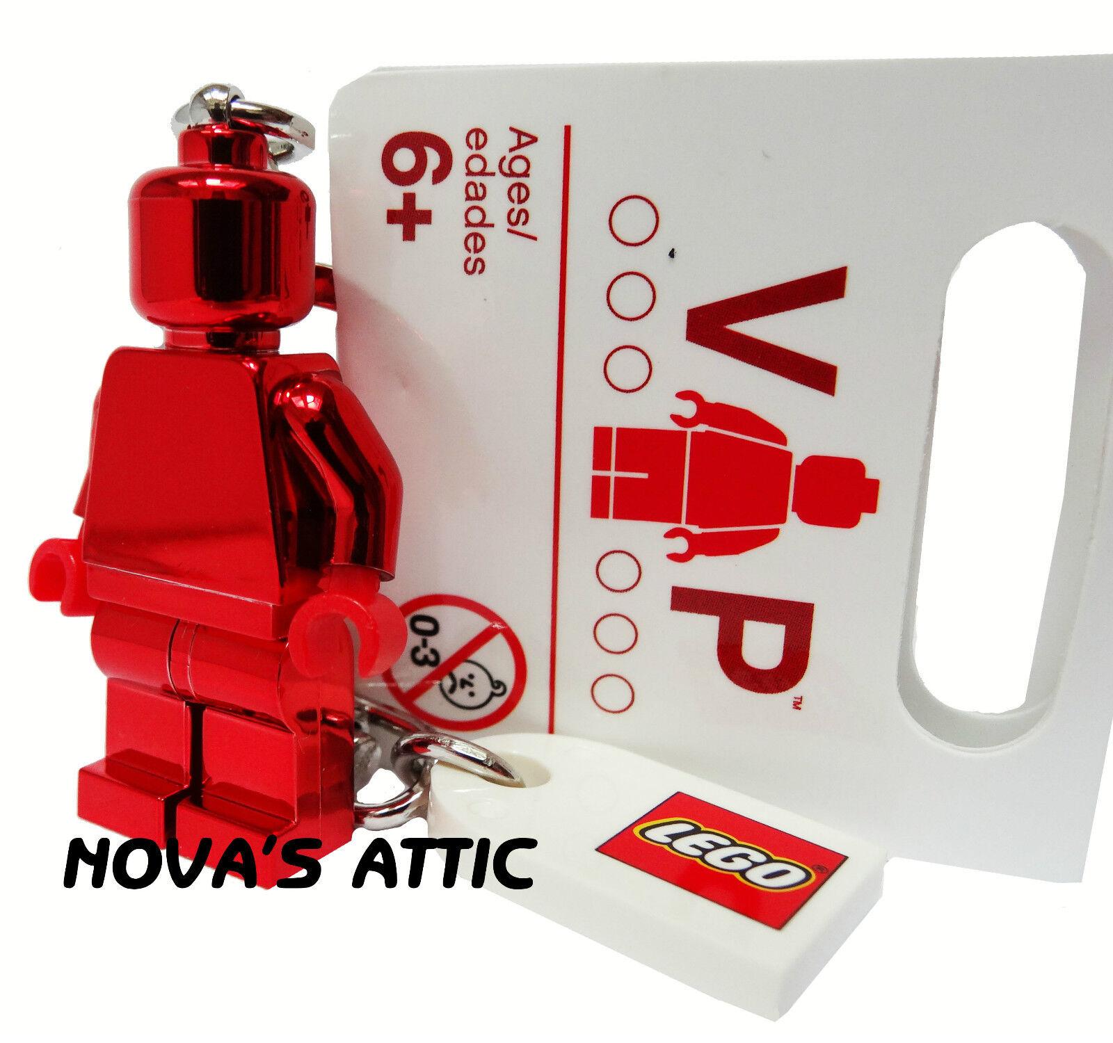 Noël coloré LEGO vip vip vip saint valentin 2013 rouge chrome porte-clés figurine neuf 3ec848