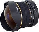 Rokinon 8mm t/3.8 Aspherical Lens For Canon