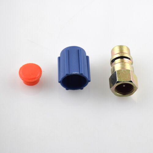 """R-12 to R-134a Retrofit Conversion Adapter Fitting 1//4/"""" LOW SIDES 7//16 SAE"""