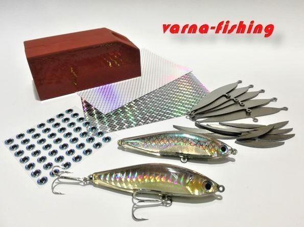 Amazing hard bait kit, Hard Bait Lure Mold.  DIY hard lure, 75 mm   3 inch  comfortable