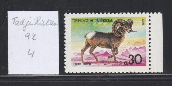 Sportif Tadjikistan 1992 4 ** Mouflon