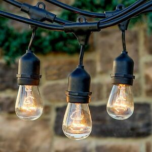 Outdoor vintage retro style led festoon party lights fairy string outdoor vintage retro style led festoon party lights aloadofball Choice Image