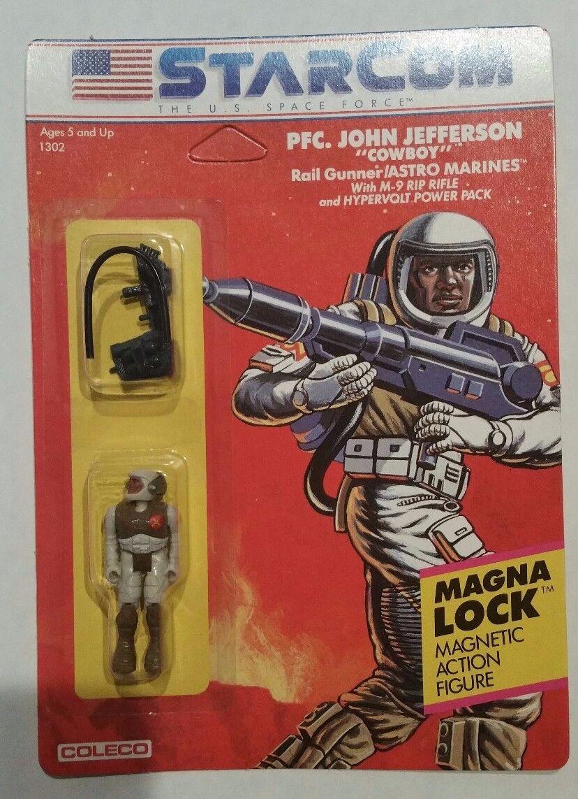1986 VINTAGE estrellacom pfc. JOHN Cowboy Jefferson cifra COLECO Versione