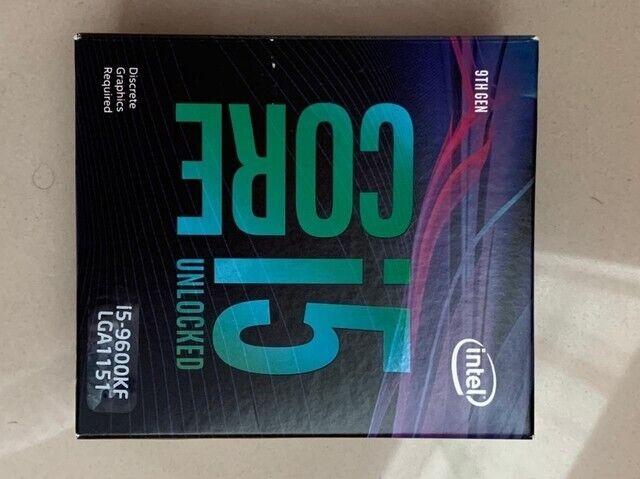 Processor, intel, 9600KF