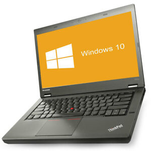 Lenovo ThinkPad T440p Notebook Intel Core i5-4210M 2x 2,6GHz 8GB RAM 256GB SSD