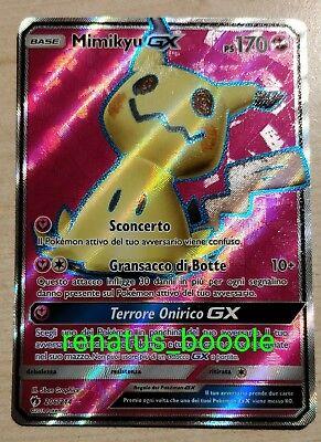 Carta Pokemon SIGILYPH GX 202/214 TUONI PERDUTI IN ITALIANO VEDI ALTRE CARTE kaartspellen