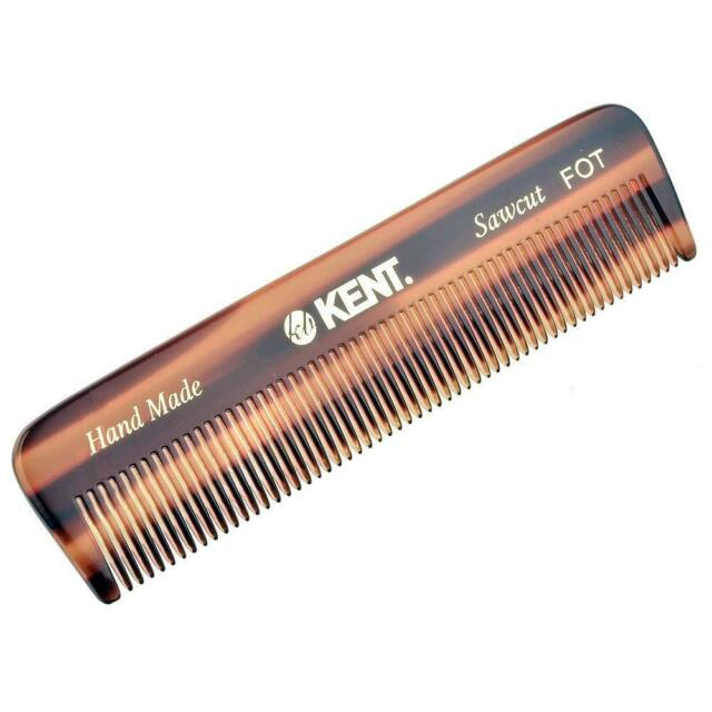 "Kent FOT 4 1/2"" 113 mm Handmade Comb. All Fine Pocket Comb"