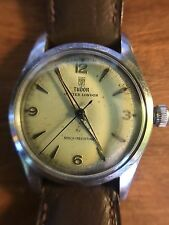 Vintage Tudor Oyster London Mens Steel Manual Wind Watch