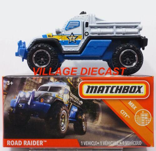 MIB 2020 Matchbox Power Grabs #23 Road Raider™ WHITE PEARL MBX COUNTY
