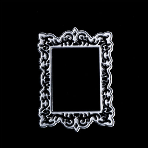 Frame Decor Metal Cutting Dies Stencils For Scrapbooking DIY Album Card MakingLY