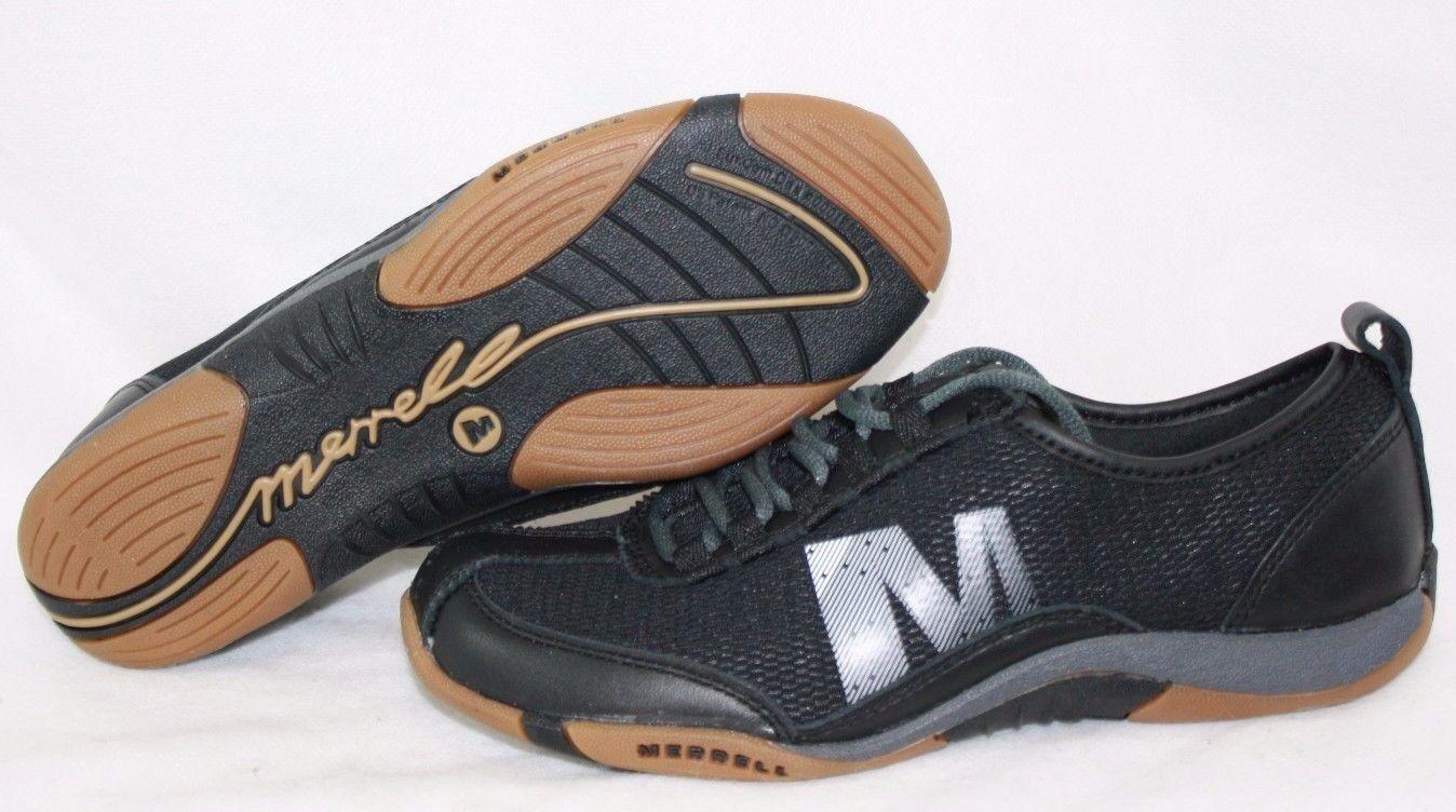 Nueva Nueva Nueva camiseta para mujer Merrell Tango brisa de encaje J173259C Negro Plata Tenis Zapatos  precio razonable