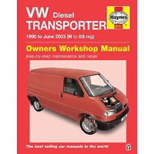 [5711] VW Transporter T4 1.9 2.4 2.5 Diesel 1990-2003 Haynes Workshop Manual