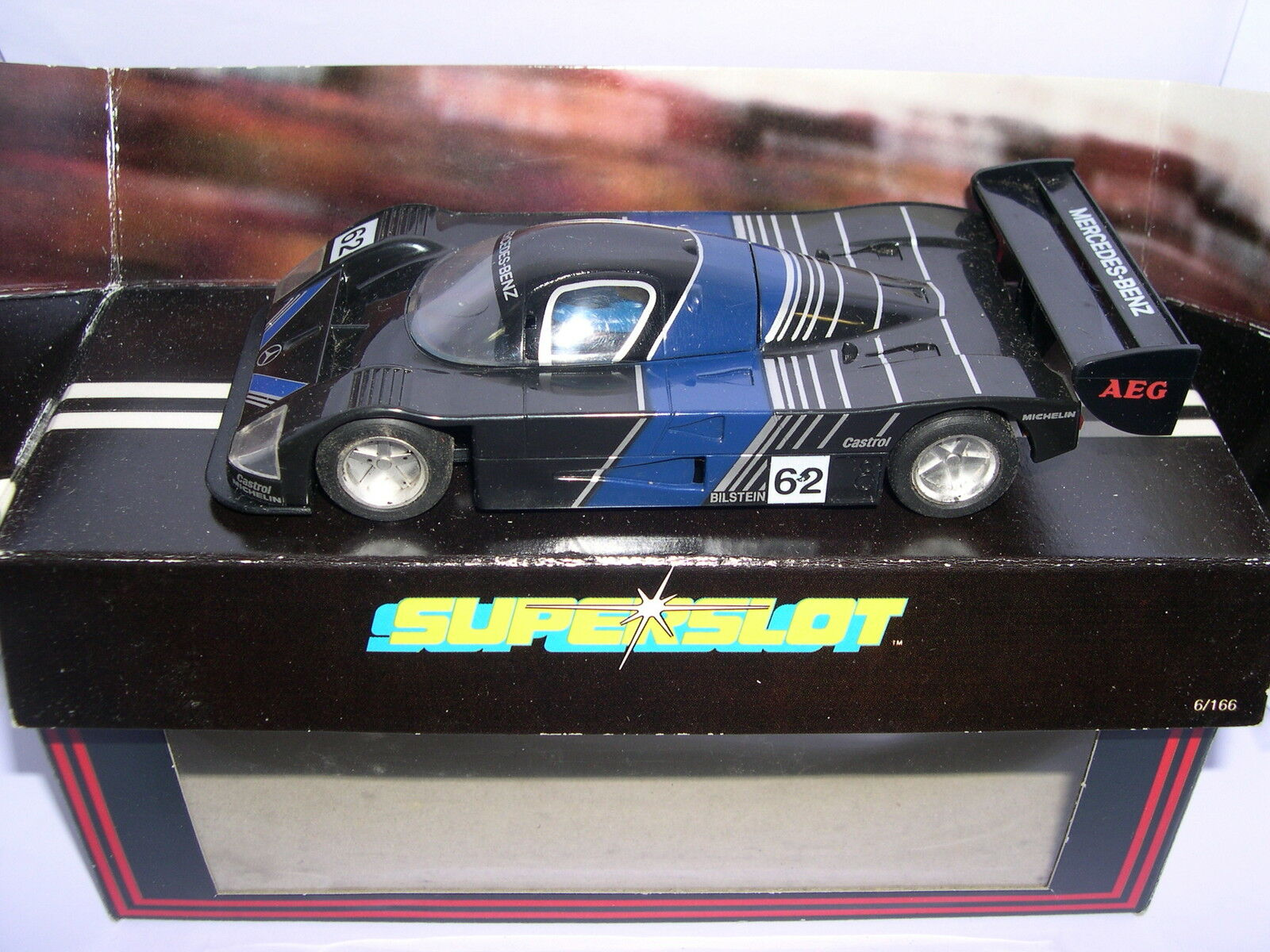 SUPERSLOT C299 MERCEDES SAUBER AEG DOESN'T MIRRORS SCALEXTRIC UK MB