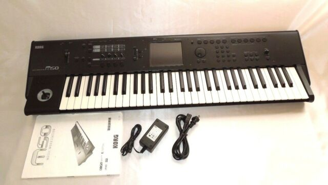 KORG M50 61-Key Compact Music Synthesizers Excellent++ From Japan # 2018 #  0612