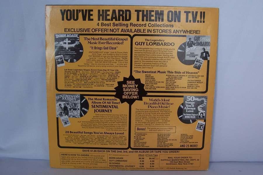 Guy Lombardo - 50 Years! 50 Hits! Vinyl LP Record Album