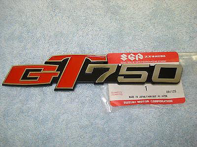 68111-45010 SUZUKI GOLD FUEL TANK EMBLEM BADGE GS450 450 GS750 750 GS850 GS1000