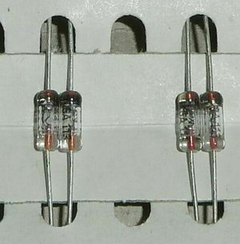 Germaniumdioden 25 V  30 mA 3 Paar  2GA 113 3 matched Pair