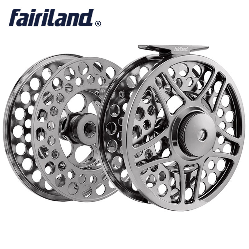 9 11 110mm 4.33  2BB+1RB METAL fly fishing reel with extra spool fly reel combo