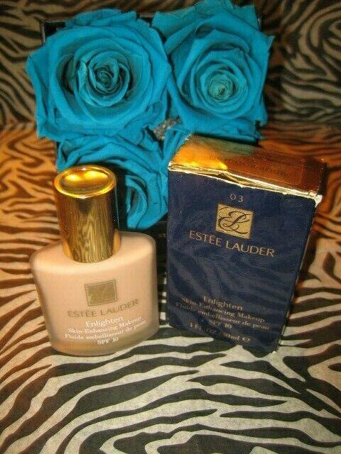 Estee Lauder Enlighten Skin Enhancing Makeup Spf 10 03 Outdoor Beige 1oz For Sale Online Ebay